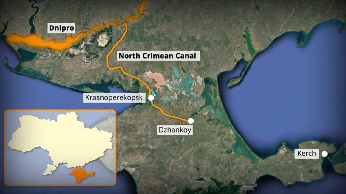 Крым, вода, Донбасс